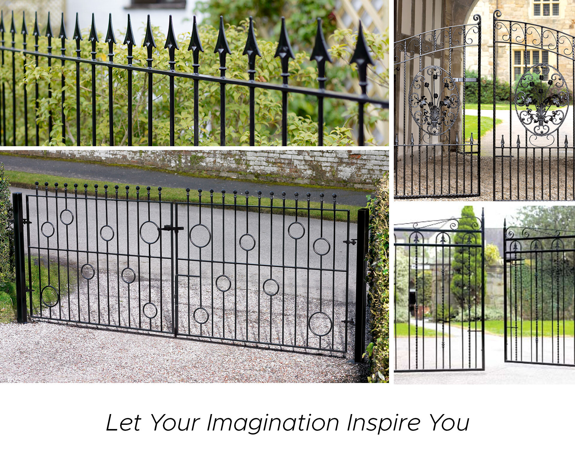 Modern metal gate designs