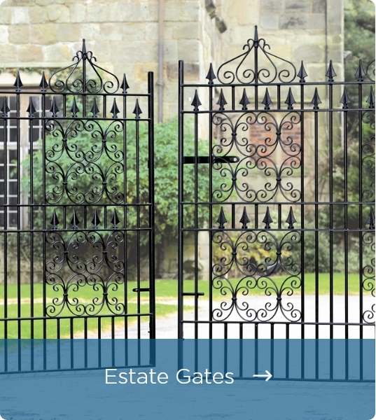 Metal Estate Gates - Click Here