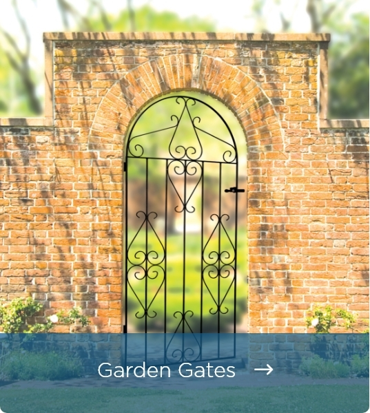 Metal Garden Gates - Click Here