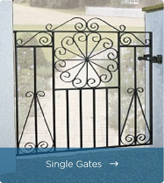 Click Here to View Metal Garden Gates