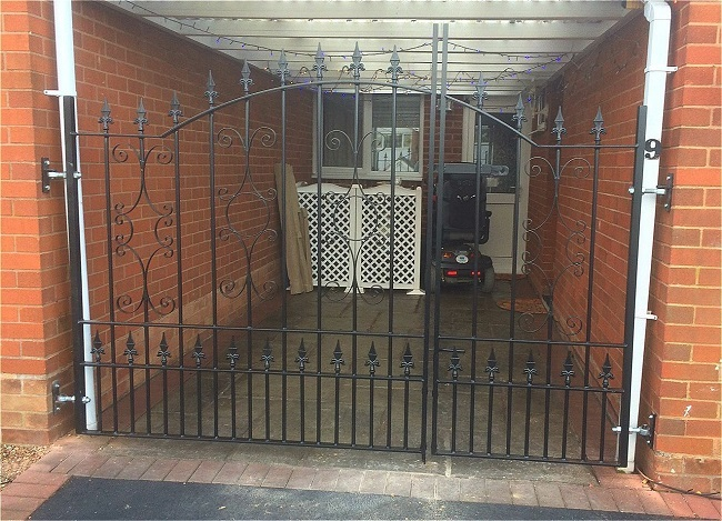 Driveway gates fitted in Essex