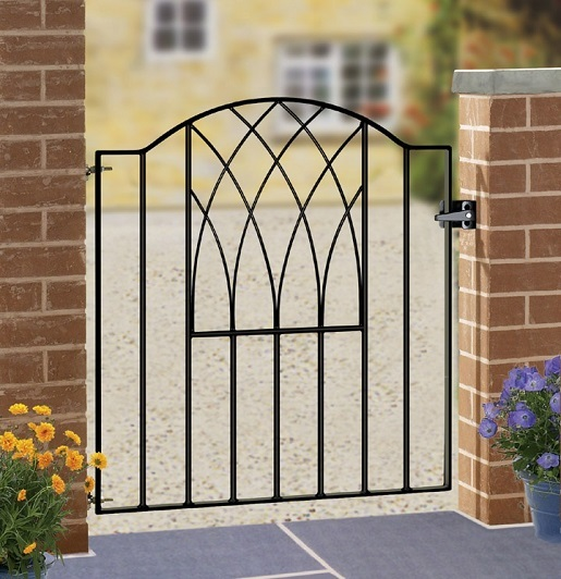 Verona Wrought Iron Garden Gate Design