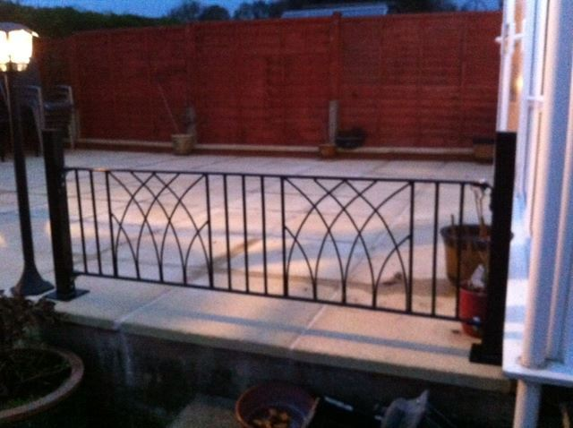 Bespoke Garden Railings