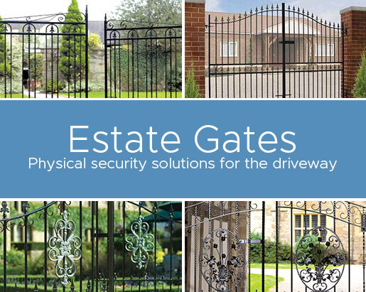 Estate Gates - Physical Security Solutions for the Driveway