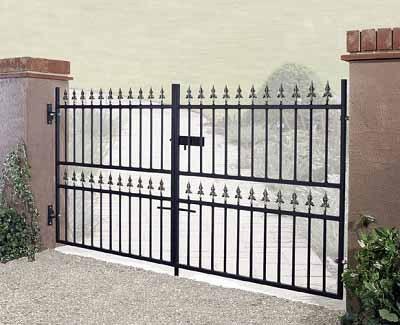 Corfe Wrought Iron Style Driveway Gates