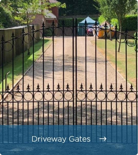 Metal Driveway Gates - Click Here