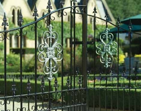 Royal Premier Double Metal Gates fitted to residential driveway entrance