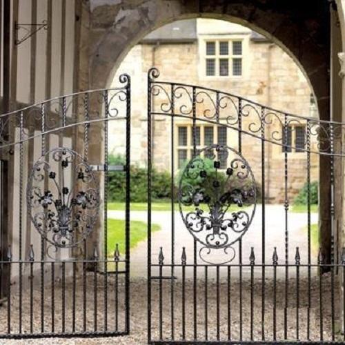 Royal Balmoral Wrought Iron Gates