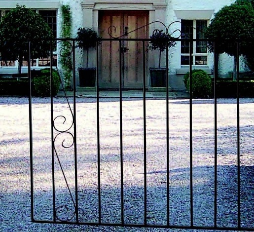 Clifton Wrought Iron Driveway Gates