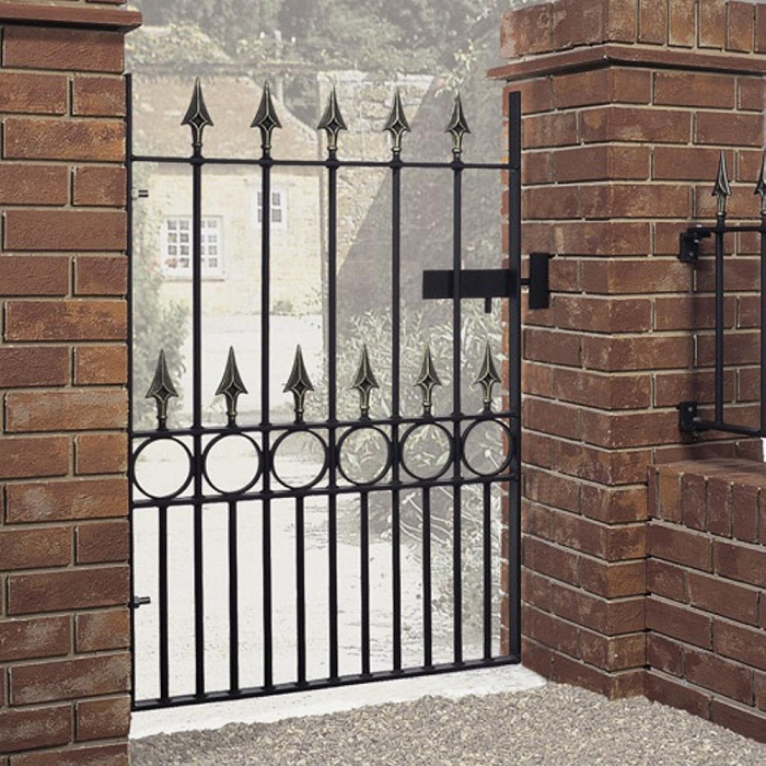 Balmoral Wrought Iron Style Metal Garden Gate