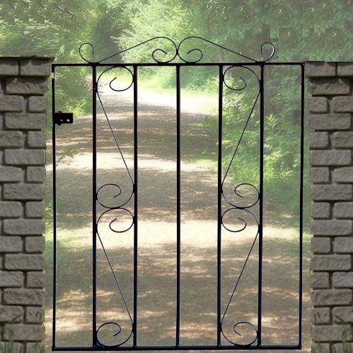 Clifton Wrought Iron Style Metal Garden Gate
