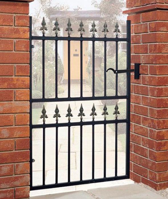 Corfe Wrought Iron Style Metal Garden Gate