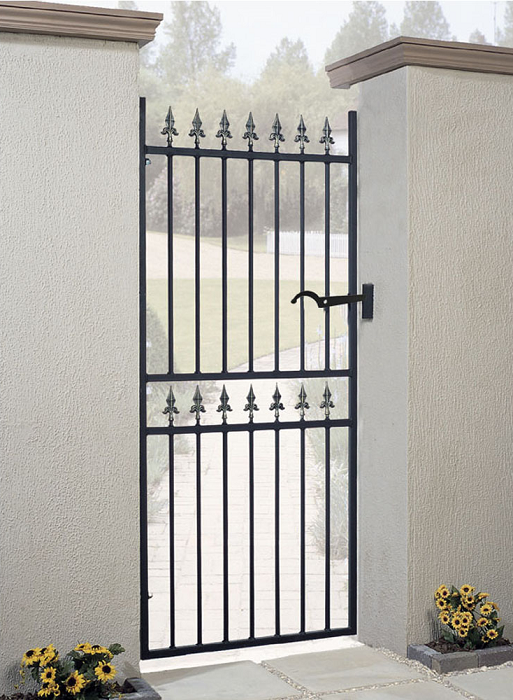 Corfe Wrought Iron Style Metal Side Gate