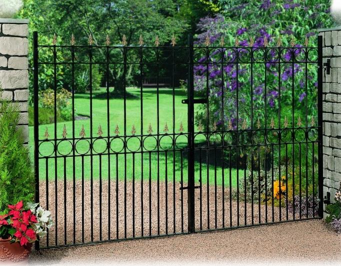 Royale Talisman Wrought Iron Style Estate Gates