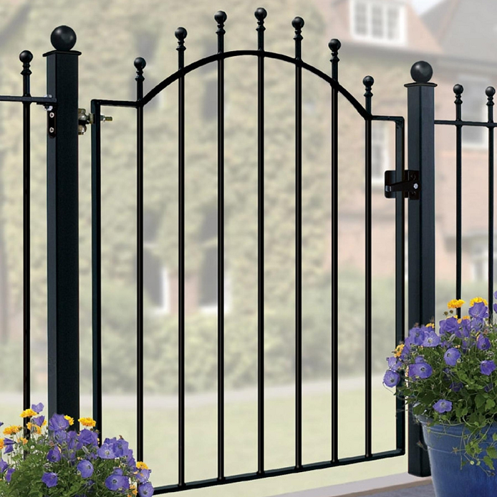 Weston Wrought Iron Style Metal Garden Gate